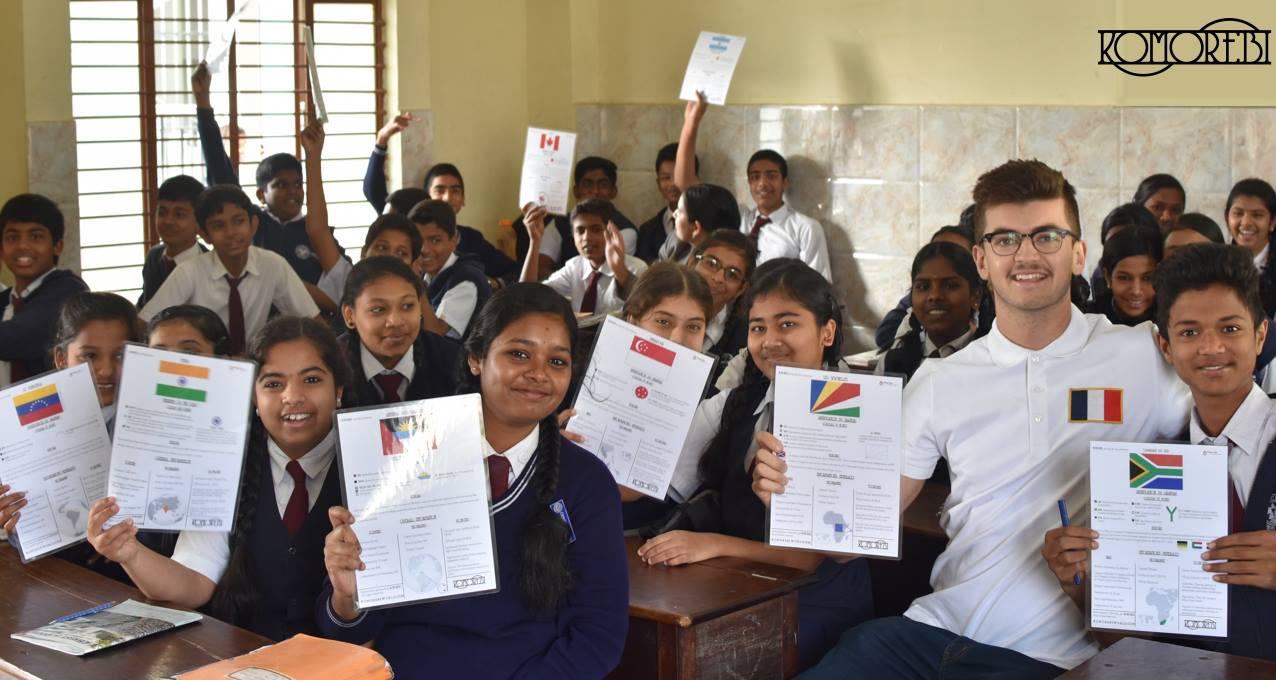 Komorebi, la marque qui oeuvre pour l'éducation des enfants défavorisés